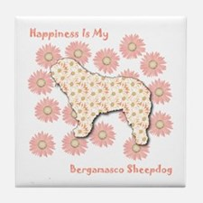 Bergamasco Happiness Tile Coaster