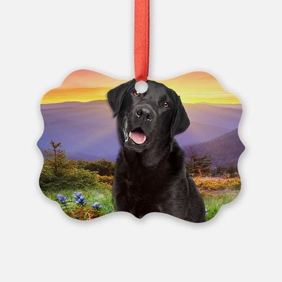 Labrador Meadow (tote) Ornament