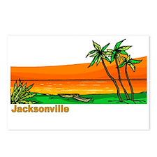 Jacksonville, Florida Postcards (Package of 8)