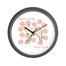 Berger Happiness Wall Clock