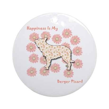 Berger Happiness Ornament (Round)