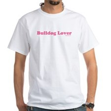 """Bulldog Lover"" Pink Shirt"