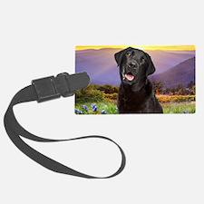 Labrador Meadow (oval) Luggage Tag