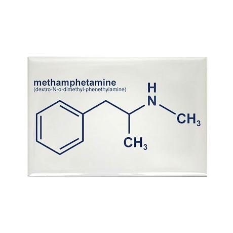Methamphetamine Rectangle Magnet
