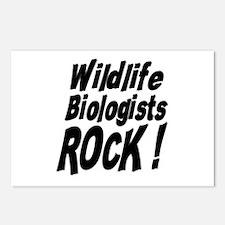 Wildlife Biologists Rock ! Postcards (Package of 8