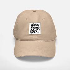 Wildlife Biologists Rock ! Baseball Baseball Cap