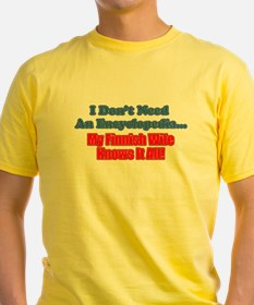 My Finnish Wife Knows It All T-Shirt