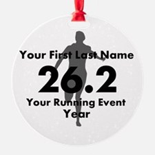Customizable Running/Marathon Ornament
