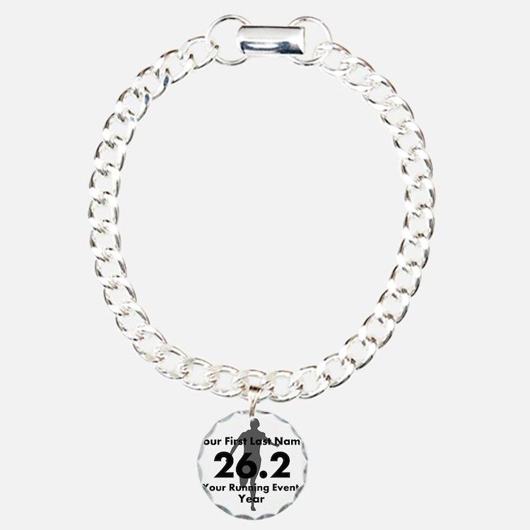 Customizable Running/Marathon Bracelet
