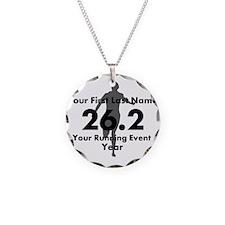 Customizable Running/Marathon Necklace