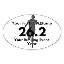 Customizable Running/Marathon Decal