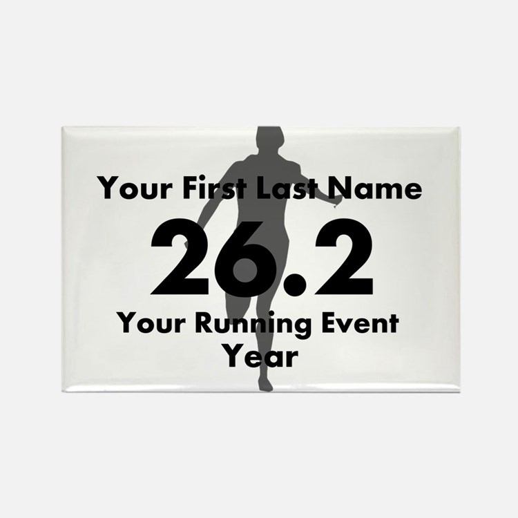 Customizable Running/Marathon Magnets