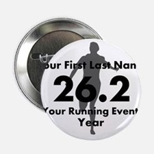 "Customizable Running/Marathon 2.25"" Button"
