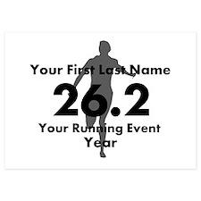 Customizable Running/Marathon Invitations