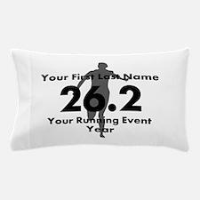 Customizable Running/Marathon Pillow Case