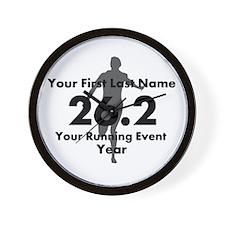 Customizable Running/Marathon Wall Clock