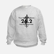 Customizable Running/Marathon Sweatshirt