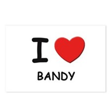 I love bandy  Postcards (Package of 8)