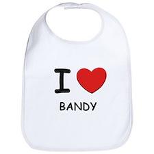 I love bandy  Bib