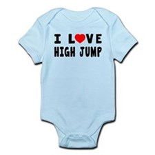 I Love High Jump Onesie