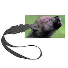 Wolf Cub Luggage Tag