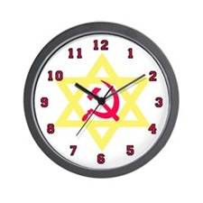 Russian Jew Wall Clock