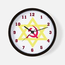 Russian Jew Wall Clock