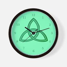 Celtic Trinity Wall Clock