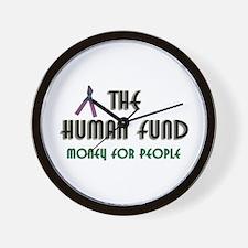 Human Fund Wall Clock Festivus Seinfeld Gift
