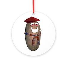 French Fried Potato Ornament (Round)