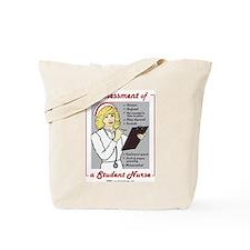 Student Nurse Assessment Tote Bag