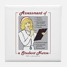 Student Nurse Assessment Tile Coaster
