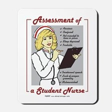 Student Nurse Assessment Mousepad
