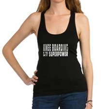 Knee Boarding Is My Superpower Racerback Tank Top