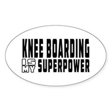 Knee Boarding Is My Superpower Decal