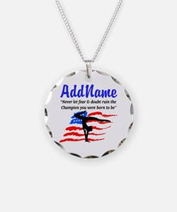USA GYMNAST Necklace