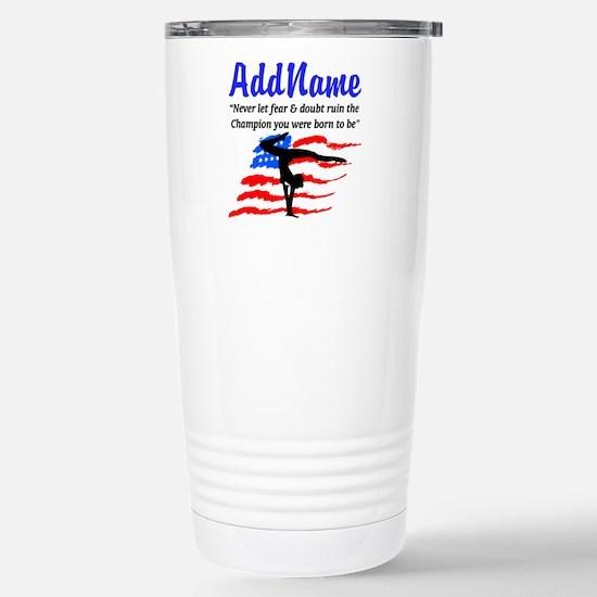 USA GYMNAST Stainless Steel Travel Mug
