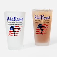 USA GYMNAST Drinking Glass