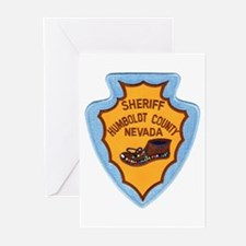 Humboldt Nevada Sheriff Greeting Cards (Package of