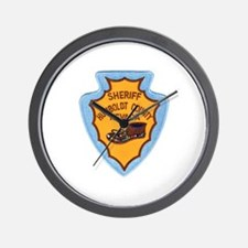 Humboldt Nevada Sheriff Wall Clock