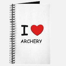 I love archery Journal