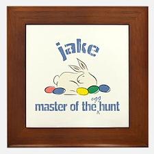 Easter Egg Hunt - Jake Framed Tile