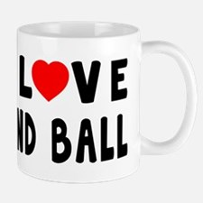 I Love Hand Ball Mug