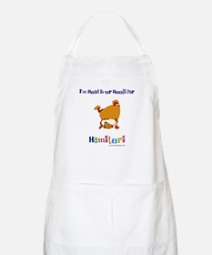 Hamster BBQ Apron: Head Over Heels For Hamsters