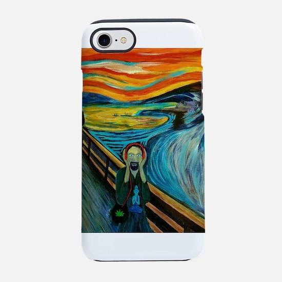MINDFUL SCREAM iPhone 7 Tough Case