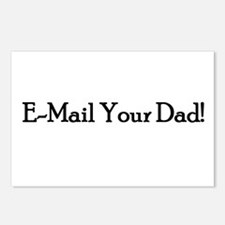 E-Mail Your Dad! Postcards (Package of 8)