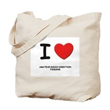 I love amateur radio direction finding Tote Bag