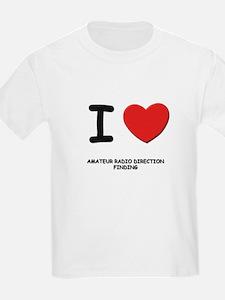I love amateur radio direction finding T-Shirt