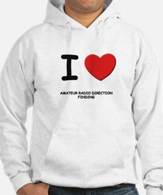 I love amateur radio direction finding Hoodie