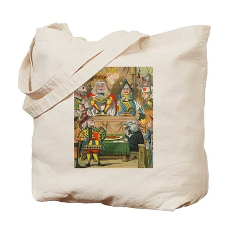 Alice - King & Queen in Court Tote Bag